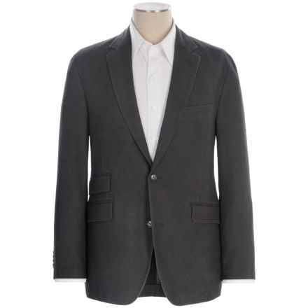 Kroon Sting Sport Coat - Washed Cotton Blend (For Men) in Black - Closeouts