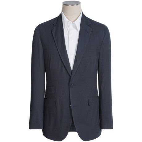 Kroon Sting Washed Navy Sport Coat (For Men) in Navy