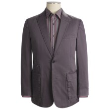 Kroon Stretch Cotton Sport Coat (For Men) in Eggplant - Closeouts