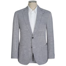 Kroon Stretch Seersucker Sport Coat (For Men) in Blue/White - Closeouts