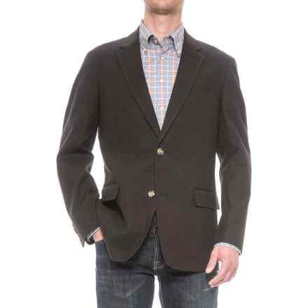 Kroon Taylor 2 Sport Coat - Stretch Cotton (For Men) in Black - Closeouts