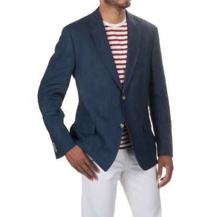 Kroon Taylor Linen Sport Coat (For Men) in Navy - Closeouts