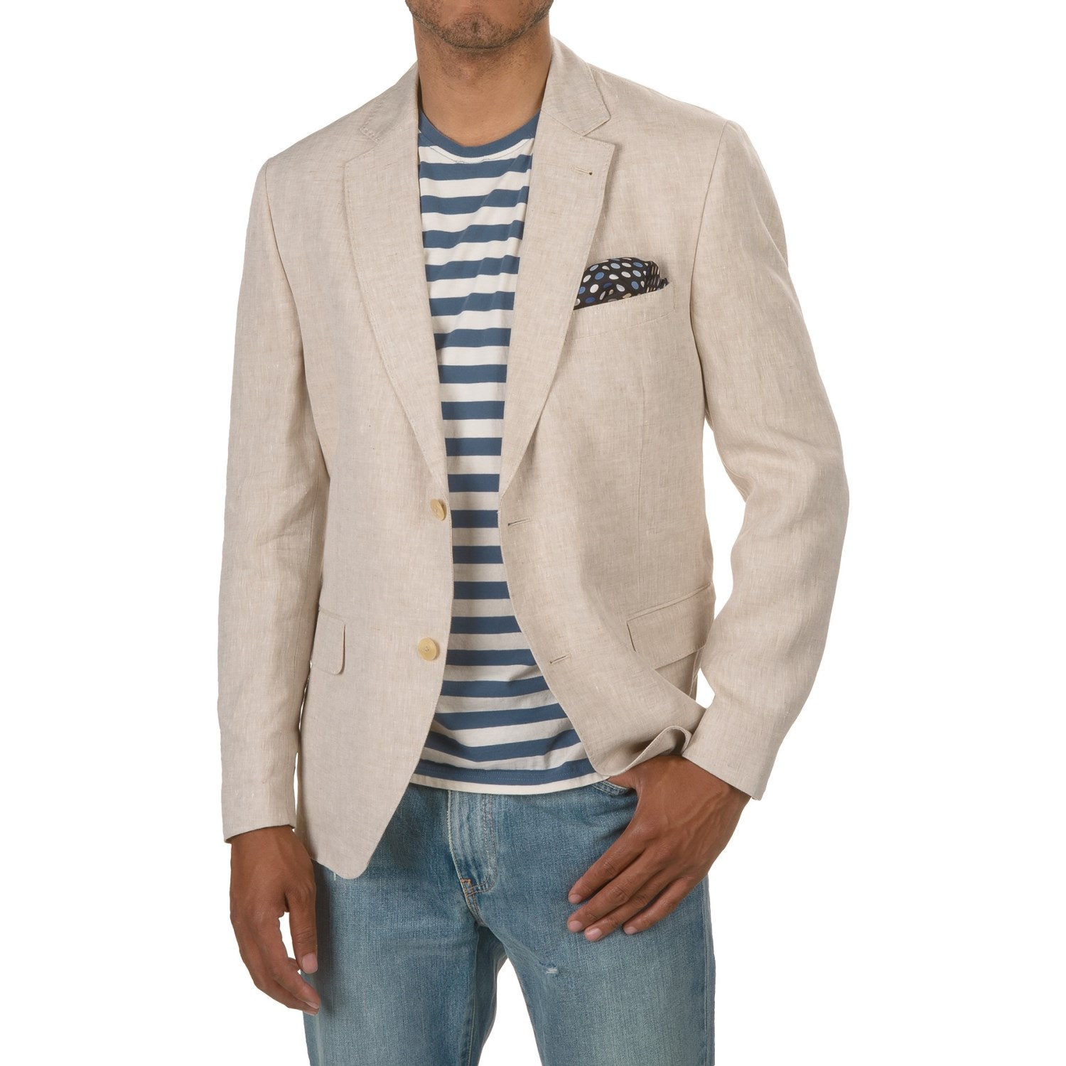 Kroon Taylor Linen Sport Coat (For Men) - Save 86%