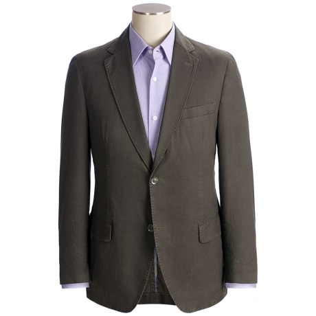 Kroon Taylor Sport Coat - Garment-Washed Cotton (For Men) in Taupe