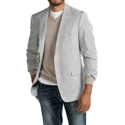 Kroon Taylor Sport Coat - Linen-Cotton (For Men) in Navy/White - Closeouts