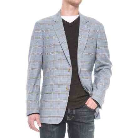 Kroon Taylor Sport Coat - Wool Blend (For Men) in Light Blue Glen Plaid - Closeouts