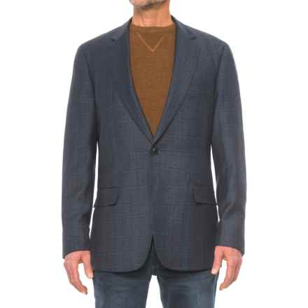 Kroon Taylor Sport Coat - Wool Blend (For Men) in Navy Plaid - Closeouts