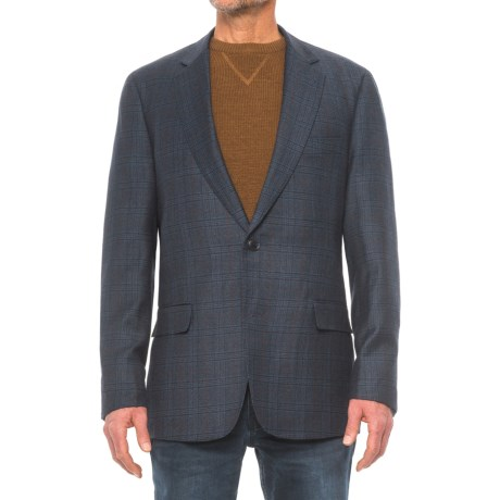 Kroon Taylor Sport Coat - Wool Blend (For Men) in Navy Plaid