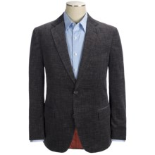 Kroon Taylor Stretch Clipped Cord Sport Coat (For Men) in Dark Charcoal - Closeouts