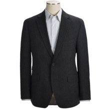 Kroon Textured Stripe Sport Coat - Wool (For Men) in Black - Closeouts