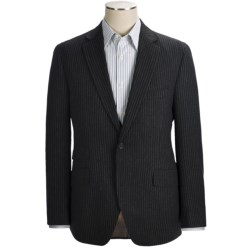 Kroon Textured Stripe Sport Coat - Wool (For Men) in Black