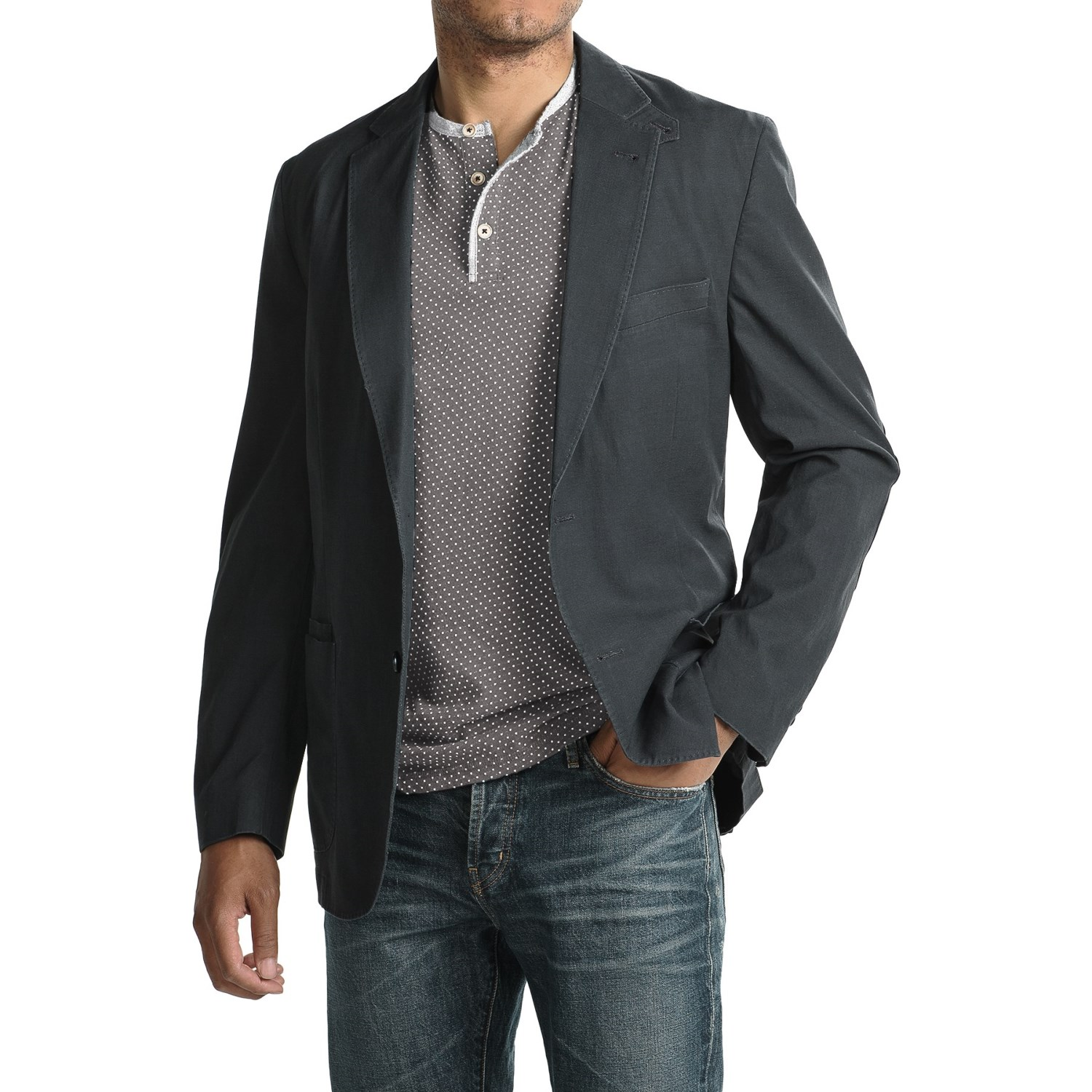 Kroon The Edge Cotton-Blend Sport Coat (For Men) - Save 76%