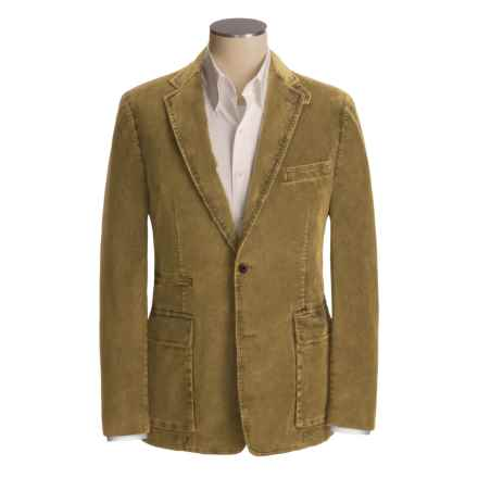 Kroon Waits Sport Coat - Stretch Corduroy (For Men) in Yellow - Closeouts