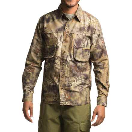 Kryptek Adventure Shirt - UPF 30+, Long Sleeve (For Men) in Highlander - Closeouts