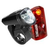 Kryptonite Street F-135 and Avenue R-14 Bike Light Set - 135/14 Lumens, Rechargeable