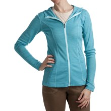 Kuhl Alpina Sweater - Merino Wool-TENCEL®, Long Sleeve (For Women) in Glacier Blue - Closeouts