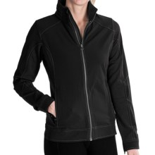 Kuhl Dfynce Soft Shell Jacket (For Women) in Raven - Closeouts