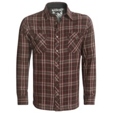 Kuhl Eskape Shirt - Long Sleeve (For Men) in Dark Brick - Closeouts