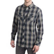 Kuhl HideOut Shirt - Snap Front, Long Sleeve (For Men) in Navy - Closeouts