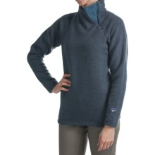 Kuhl Kiara Sweater - Alfpaca Fleece (For Women) in Indian Teal - Closeouts