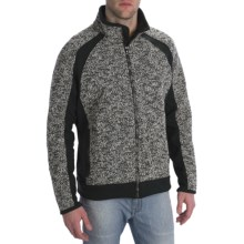 Kuhl Mondschien Jacket - Wool Blend, Fleece (For Men) in Black Thunder - Closeouts