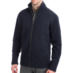 Kuhl Motiv Jacket - Boiled Merino Wool (For Men) in Navy