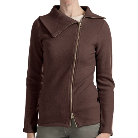 Kuhl Prague Sweater - Merino Wool, Long Sleeve (For Women) in Oak