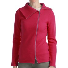 Kuhl Prague Sweater - Merino Wool, Long Sleeve (For Women) in Scarlet - Closeouts