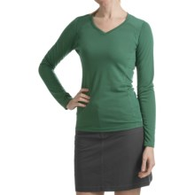 Kuhl Prima Shirt - Long Sleeve (For Women) in Emerald - Closeouts