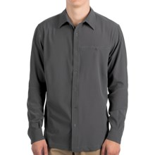 Kuhl Renegade Shirt - UPF 40, Long Sleeve (For Men) in Carbon - Closeouts