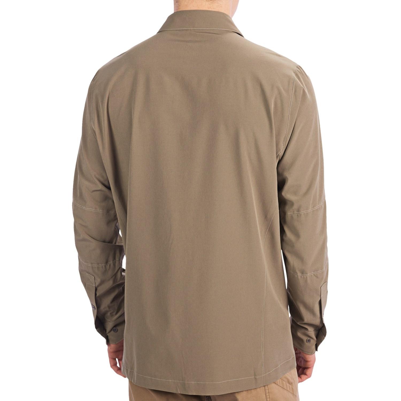 Kuhl renegade shirt for men 7320j save 36 for Men s upf long sleeve shirt