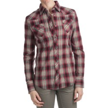 Kuhl Sheridan Flannel Shirt - Long Sleeve (For Women) in Ruby - Closeouts
