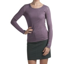 Kuhl Skoko Shirt - UPF 50, Crew Neck, Long Sleeve (For Women) in Berry - Closeouts