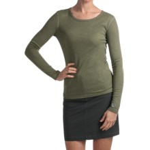 Kuhl Skoko Shirt - UPF 50, Crew Neck, Long Sleeve (For Women) in Leaf - Closeouts