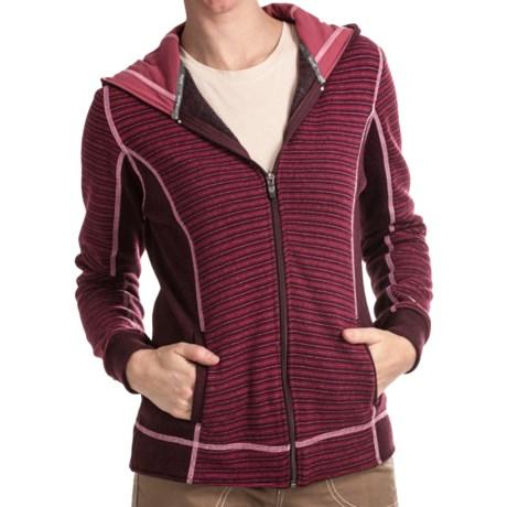 Kuhl Sovana Hoodie Sweatshirt - Wool Blend (For Women) in Scarlet