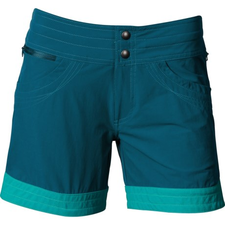 Kuhl Spree Shorts (For Women) in Lake Blue