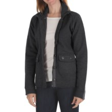 Kuhl Spy Jacket - Boiled Merino Wool (For Women) in Smoke - Closeouts