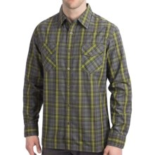 Kuhl Swindler Shirt - Long Sleeve (For Men) in Moss - Closeouts