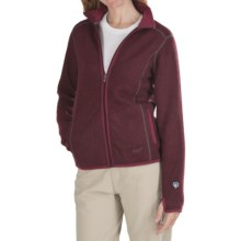 Kuhl Tara Jacket - Alfpaca Fleece (For Women) in Scarlet - Closeouts