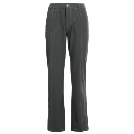 Kuhl Vala Pants - UPF 50, Stretch Nylon (For Women) in Charcoal