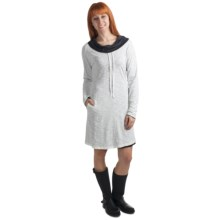 Kuhl Vega Reversible Dress - Modal-Organic Cotton, Long Sleeve (For Women) in Black R/White - Closeouts