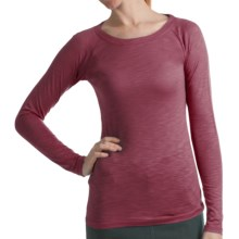 Kuhl Vega Shirt - Modal-Organic Cotton, Long Raglan Sleeve (For Women) in Scarlet - Closeouts
