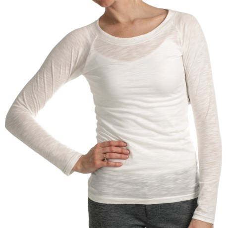 Kuhl Vega Shirt - Modal-Organic Cotton, Long Raglan Sleeve (For Women) in White