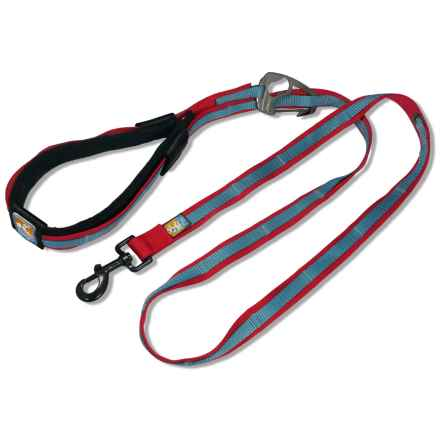 Kurgo Quantum Leash in Red/Charcoal - Closeouts