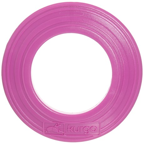 Kurgo Tossing Disc Dog Toy in Just Violet