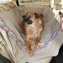 Kurgo Wander Hammock Pet Seat Cover in Splash - Overstock