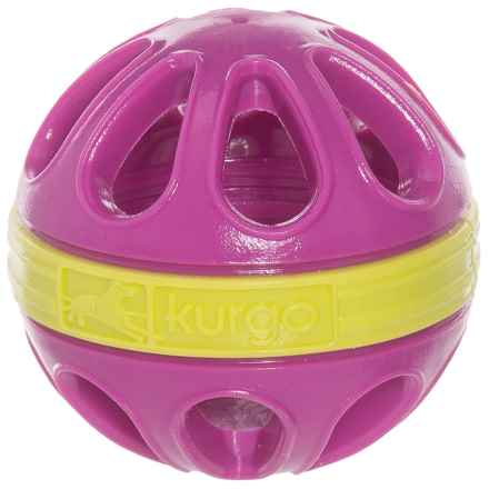 Kurgo Wapple Ball Dog Toy in Just Violet - Closeouts