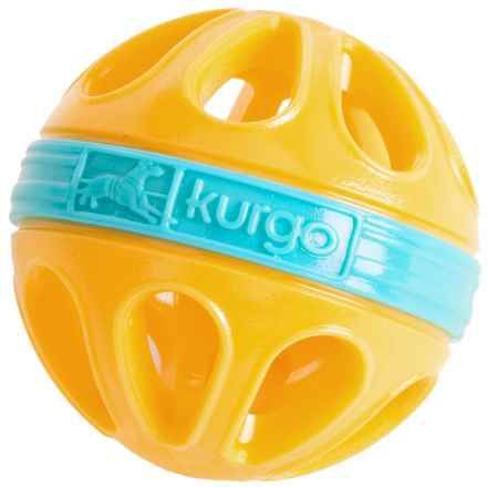 Kurgo Wapple Ball Dog Toy in Yellow/Blue - Closeouts