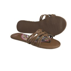Kustom Amaya Thong Sandals (For Women) in Tan