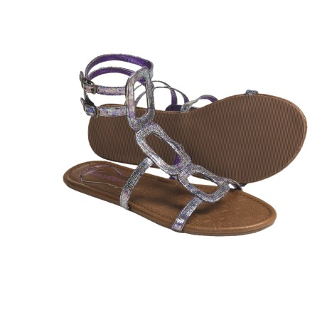 Kustom Jean Sandals (For Women) in Irridescent